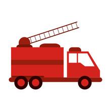 Fire Truck Firefighting Relate...