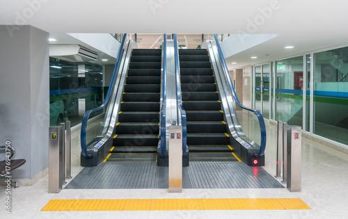 escalator Tableau sur Toile