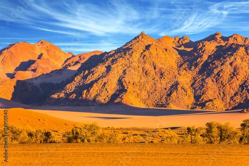 Zdjęcie XXL Góry pustyni Namib
