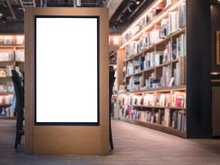 Mock Up Banner Lightbox Bookst...