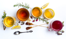 Herbal Tea Collection Glasses ...
