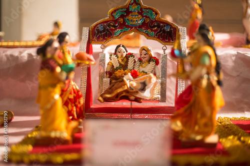Zdjęcie XXL hinduska ceremonia ślubna