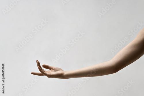Photo  Closeup photo of female arm