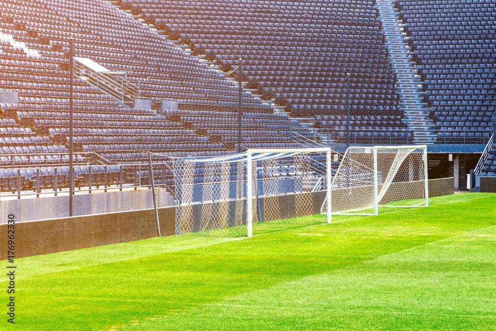 Poster Stadium Football Nikkel Art