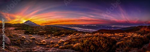Atardecer Parque Nacional del Teide
