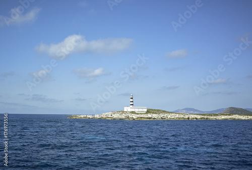 Plakat Latarnia morska na Morzu Śródziemnym