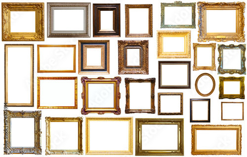 assortment of art frames - Buy this stock photo and explore similar ...