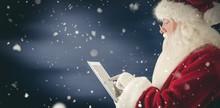 Composite Image Of Santa Uses ...
