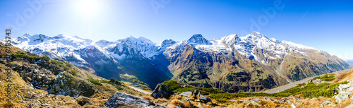 Deurstickers Alpen grossglockner mountain