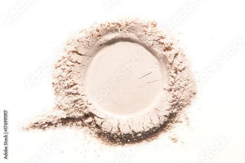 Fotografija make up powder neutral skin color pink beige
