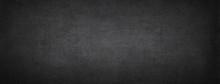 Black Chalkboard. Dark Concret...