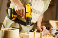 Wood Boring Drill In Hand Dril...
