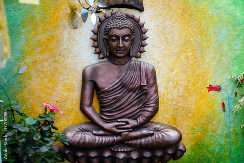 Plakat Schemat Budha