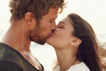 Closeup Portrait Of Romantic Y...