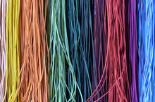 Colourful Leather Threads