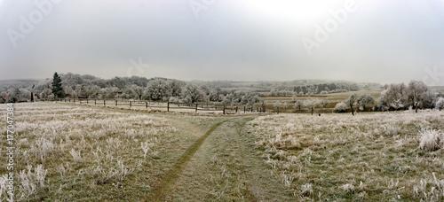 Fototapeta Winterpanorama