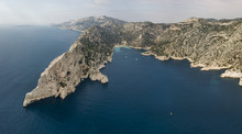 Aerial View Of Calanques Natio...