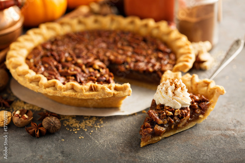 Foto  Traditional pecan pie