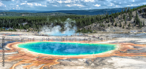 Fotografie, Obraz Yellowstone National Park