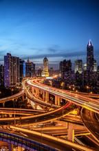 The Viaduct Sunsets,shanghai,c...