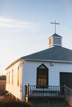 Small Christian Church In Sout...