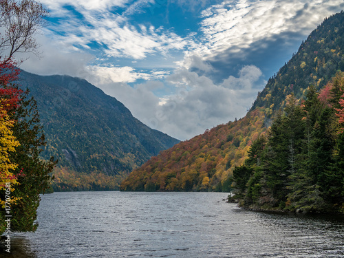 Pinturas sobre lienzo  View of Lower Ausable Lake in Adirondacks
