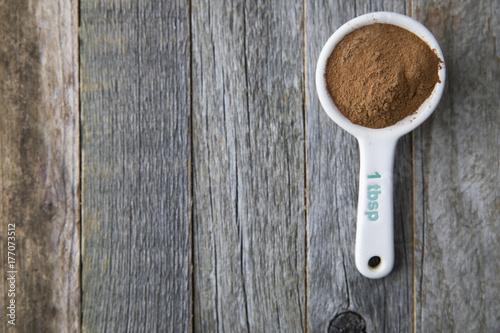Valokuva  Tablespoon of Cinnamon