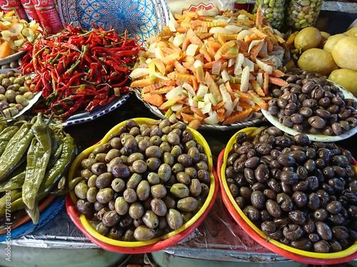 Zdjęcie XXL Rynek tunezyjski
