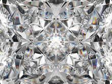 Diamond Closeup And Kaleidosco...
