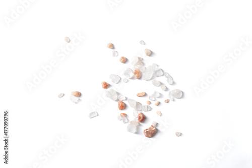 Tuinposter Kruiderij Salt on White