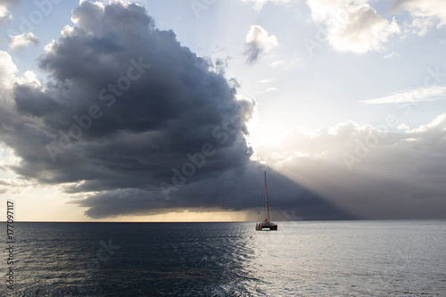 Plakat chmura