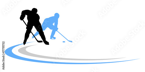 Eishockey - 75 Poster
