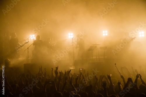 Plakat Zdjęcie koncertowe