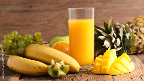 Poster Sap fruit juice