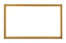 Rectangle Antique Gold Frame I...