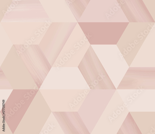 geometry-hexagonal-abstract-seamless-pattern-in-beige-nude-theme-with-glitter