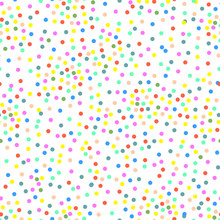 Vector Multi-colored Dots