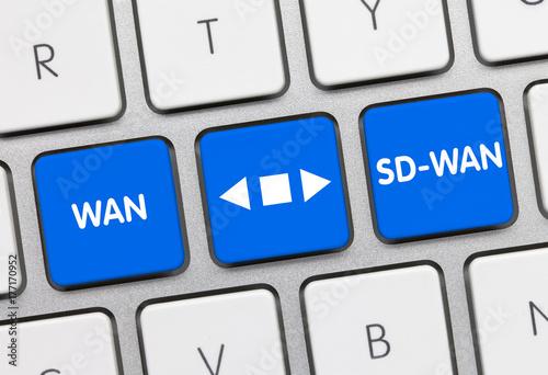 Fotografía  WAN versus SD-WAN
