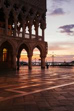 Sunrise Over Doges Palace, Ven...