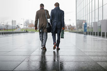Businessmen On Their Way To Me...