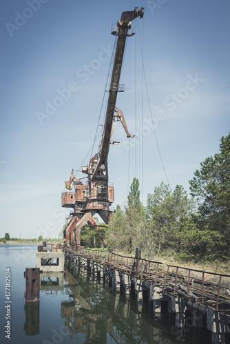 Plakat Żuraw Czarnobylski