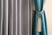 Beautiful Colorful Curtains In...