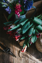 Tulips And Hyacinths In A Recl...