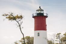 Nauset Light On Cape Cod Eastham, Massachusetts