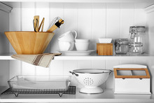 Storage Stand With Cooking Ute...