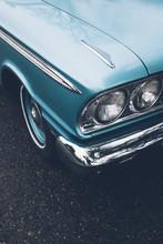 Detail Of Vintage Car, Focus O...