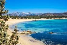 Aliko Beach On Naxos Island, C...