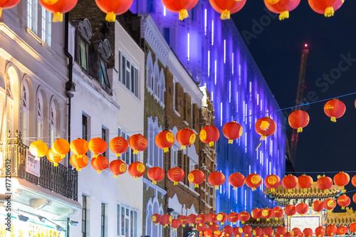 China town in Soho, London