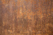 canvas print picture - Rusted steel as texture and background