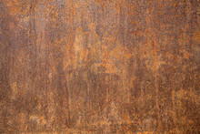 Rusted Steel As Texture And Ba...